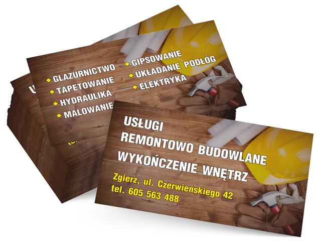 Digicom Poligrafia I Reklama Wizytówki 90x50mm Zadruk 44 Na